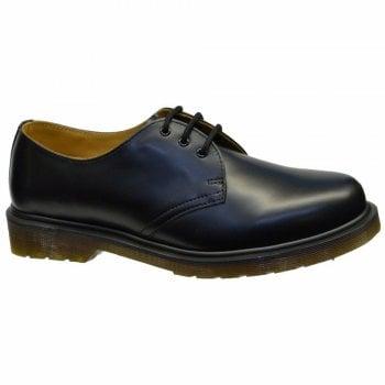 Dr Martens 1461 PW Black / Black (11839002) 3 Eyelet (F5) Mens Shoes