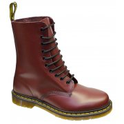 Dr Martens 1490 - 10 Hole Cherry Red (Z-21) Mens Boots