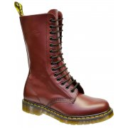 Dr Martens 1914 14-Eyelet Smooth Cherry Red (N7a) Mens Boots