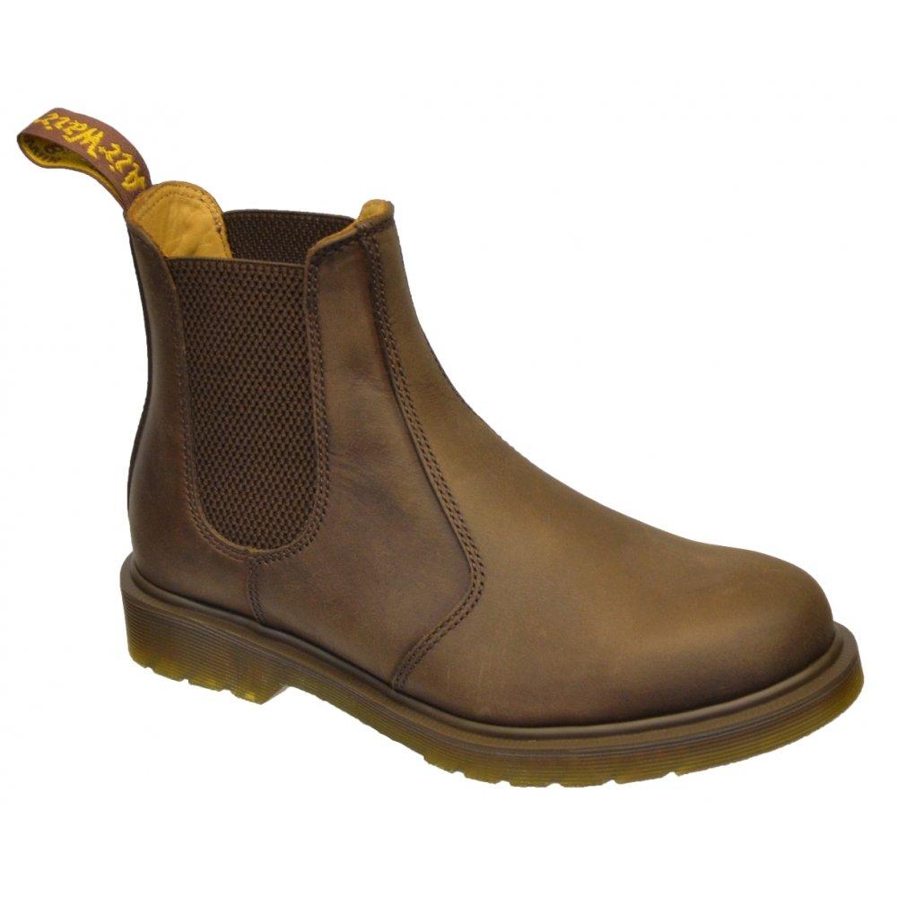 dr martens dr martens 2976 chelsea dealer gaucho brown crazy horse n37 11853201 mens boots dr. Black Bedroom Furniture Sets. Home Design Ideas