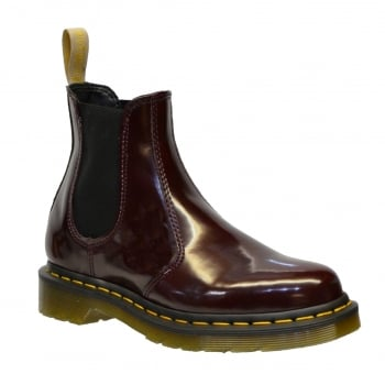 Dr Martens 2976 Vegan Chelsea Cherry Red (Z107) 21802600 Mens Boots