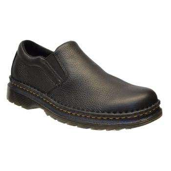 Dr Martens Boyle Black Grizzly (K8) 21096001 Mens Slip on Shoes