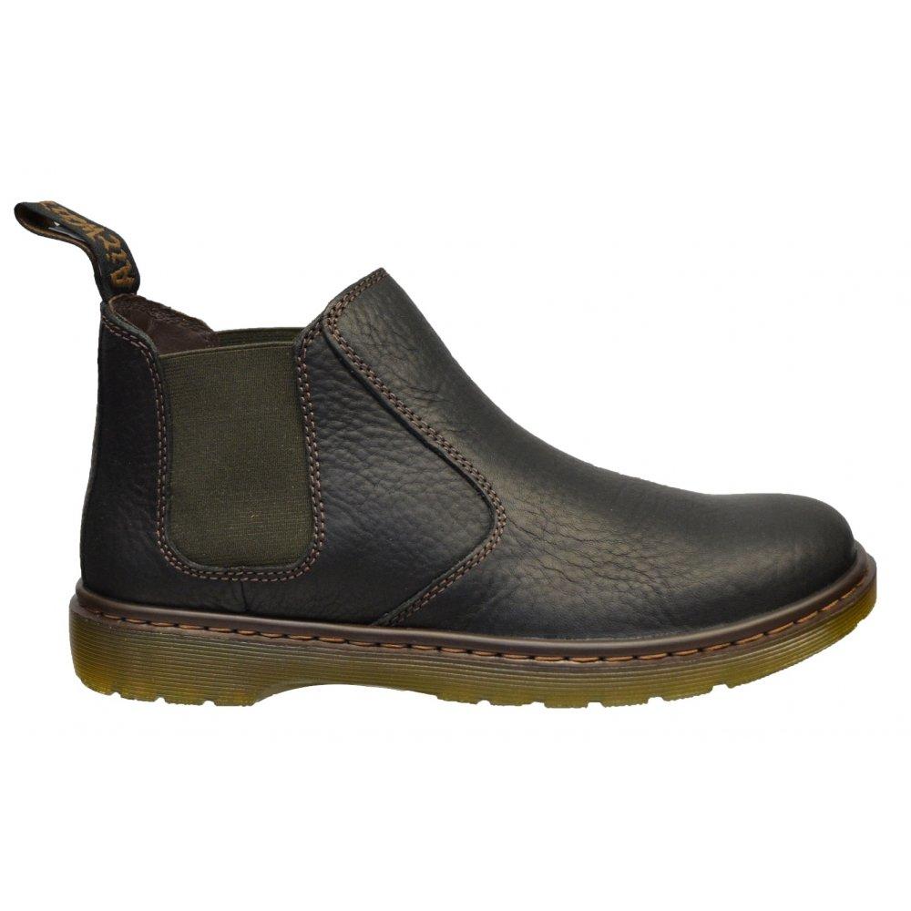 dr martens dr martens conrad black f4 14804001 mens chelsea boots dr martens from pure. Black Bedroom Furniture Sets. Home Design Ideas