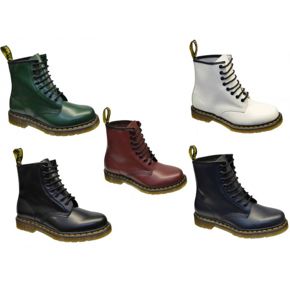 Dr Martens 1460 8 Hole Eyelet Mens Boots All Sizes In