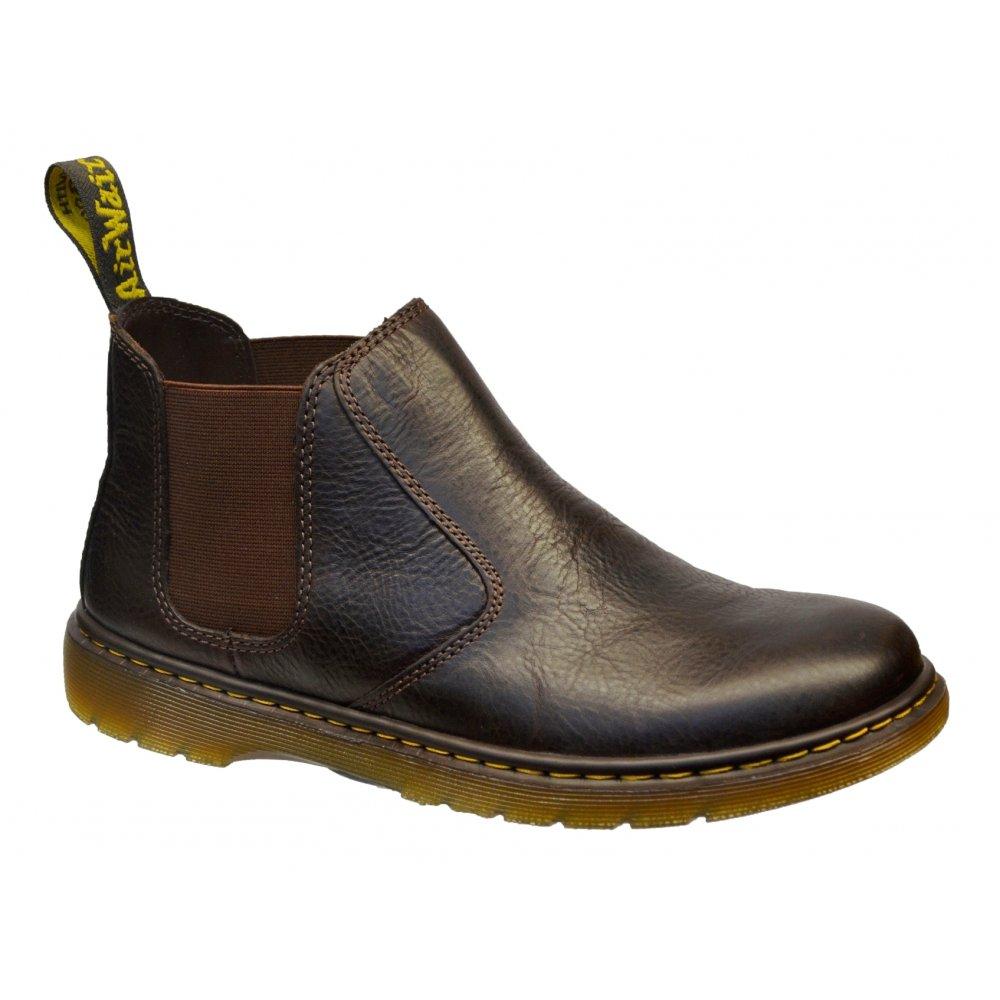 dr martens dr martens conrad dark brown k2 mens chelsea boots dr martens from pure brands uk uk. Black Bedroom Furniture Sets. Home Design Ideas