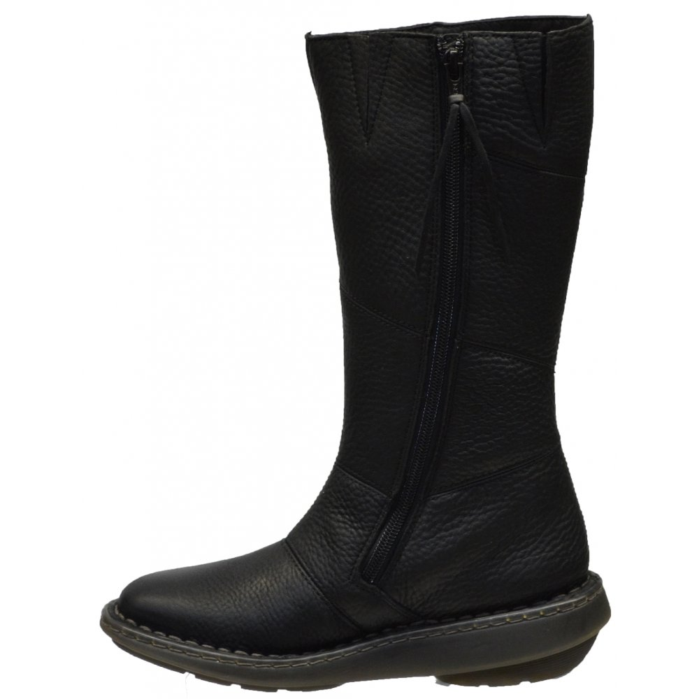 dr martens dr martens wedge calf black gd1 boots