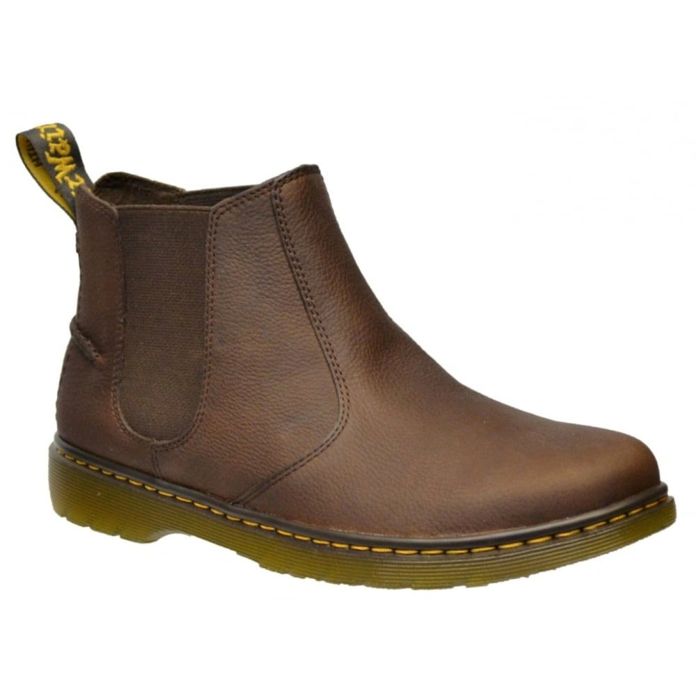 Dr Martens Lyme Grizzly Dark Brown (N8) 20832201 Mens Chelsea Boots ...