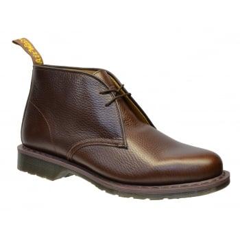 Dr Martens Sawyer Textured Leather Dark Brown (N26) 15688202 Mens Boots