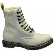 Dr Martens Serena Off White (SC8) Faux Fur Lined Womens Boots