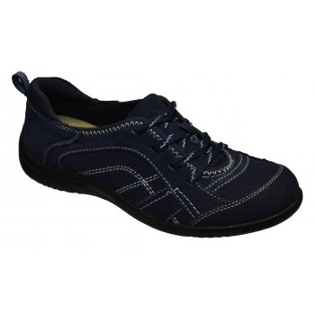 Earth Spirit Atlanta Suede Navy Blue (N19) 19521 Ladies Pumps