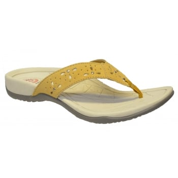 Earth Spirit Aurora Suede Amber Yellow (B21) 24080 Ladies Sandals