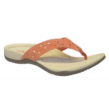 Earth Spirit Aurora Suede Coral (OSF) 24078 Ladies Sandals
