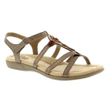 Earth Spirit Cape Coral - Platinum (E5) 28126 Ladies Sandals