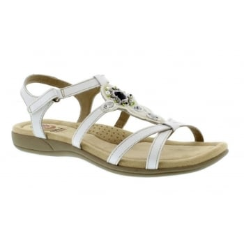 Earth Spirit Cape Coral - White (N200) 28125 Ladies Sandals