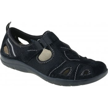 Earth Spirit Cleveland Nubuck Black (F9) 30574 Ladies Casual Shoes