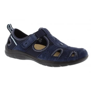 Earth Spirit Cleveland Nubuck Navy Blue (N26) 28052 Ladies Sandals