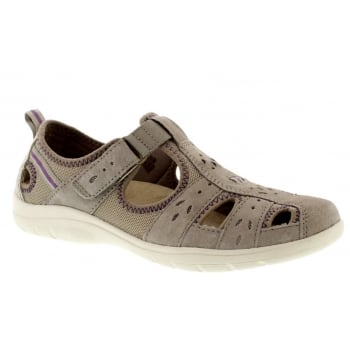 Earth Spirit Cleveland Nubuck New Khaki (N1) 30324 Ladies Sandals