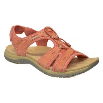 Earth Spirit Columbia Coral (N5A) 24128 Ladies Sandals