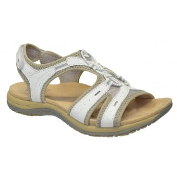 Earth Spirit Columbia Leather White (N109) 24129 Ladies Sandals