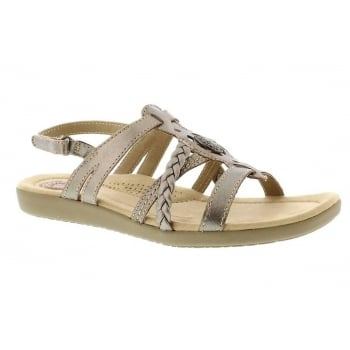 Earth Spirit Dallas Platinum (N9) 28011 Ladies Sandals