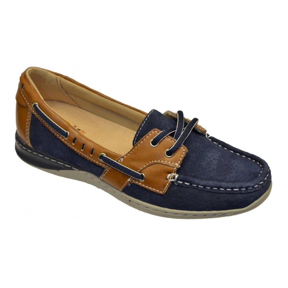 sale usa online popular stores best loved Earth Spirit Earth Spirit Chicago Navy Blue (N83) 19602 Ladies ...