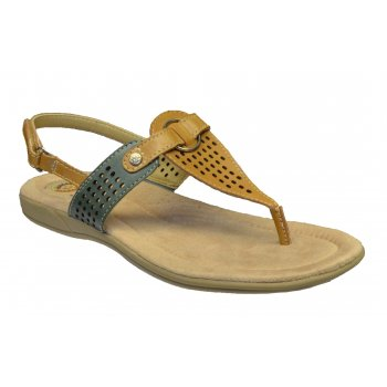Earth Spirit New York Leather Sand Multi (Z13) 19568 Ladies Sandals