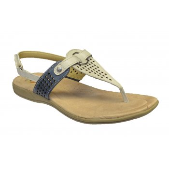 Earth Spirit New York Leather Sand White Multi (C5) 19570 Ladies Sandals