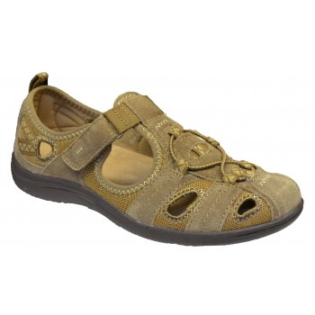 Earth Spirit Wichita Nubuck Sedona Brown (Z101) 19503 Ladies Sandals