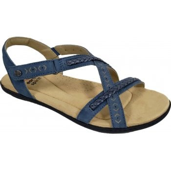 Earth Spirit Easton Nubuck / Leather Moroccan Blue (N17A) 30590 Ladies Sandals