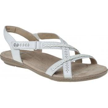 Earth Spirit Easton Nubuck / Leather White (GD2) 30588 Ladies Sandals