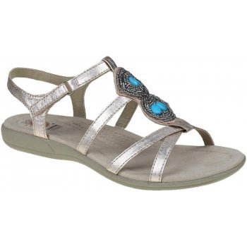 Earth Spirit Ellensburg Leather Light Rose Gold (G1) 30274 Ladies Sandals