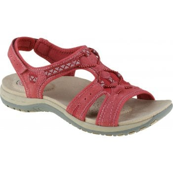 Earth Spirit Fairmont Nubuck Rich Red (B20) 30535 Ladies Sandals