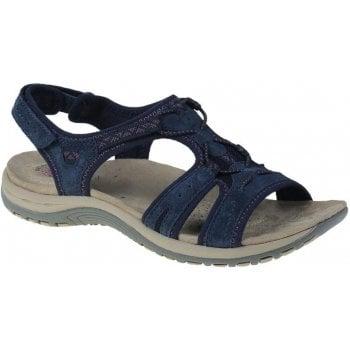 Earth Spirit Fairmont Suede Navy Blue (F11) 30237 Ladies Sandals