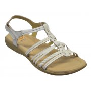 Earth Spirit Freemont Leather White (N70) 19582 Ladies Sandals