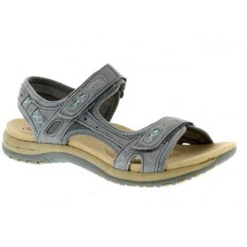 Earth Spirit Frisco Nubuck Frost Grey (N36) 28091 Ladies Sandals