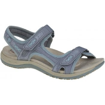 Earth Spirit Frisco Nubuck Frost Grey (N47) 30231 Ladies Sandals