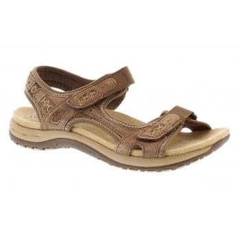 Earth Spirit Frisco Nubuck Molasses (N55) 28092 Ladies Sandals