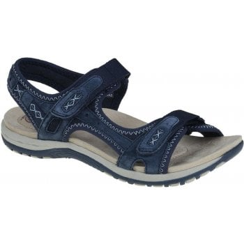 Earth Spirit Frisco Nubuck Navy Blue (F10) 30233 Ladies Sandals