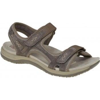 Earth Spirit Frisco Nubuck Sedona Brown (N17B) 30232 Ladies Sandals