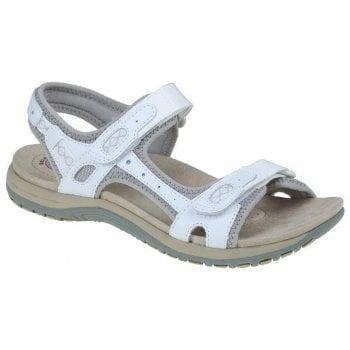 Earth Spirit Frisco Nubuck White (N25) 30234 Ladies Sandals