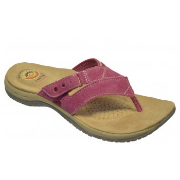 Earth Spirit IOWA Red Plum (N108) 19618 Ladies Sandals