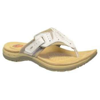 Earth Spirit Jackson White (B19) 21062 Ladies Sandals