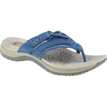 Earth Spirit Juliet Leather Cobalt Blue (B15) 30222 Ladies Sandals
