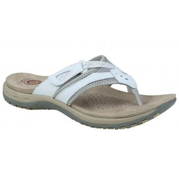 Earth Spirit Juliet Leather White (K8) 28079 Ladies Sandals