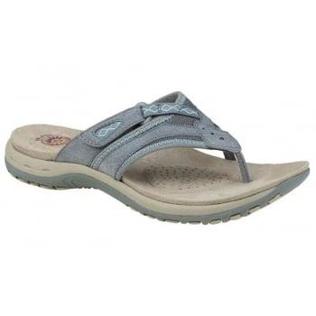 Earth Spirit Juliet Nubuck Frost Grey (B14) 28081 Ladies Sandals
