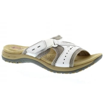 Earth Spirit Lakewood Leather White (N52) 28084 Ladies Sandals