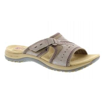 Earth Spirit Lakewood Nubuck Khaki (P4) 28087 Ladies Sandals