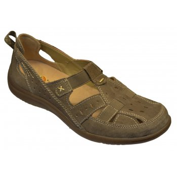 Earth Spirit Long Beach Suede Sedona Brown (F12) 19509 Ladies Sandals