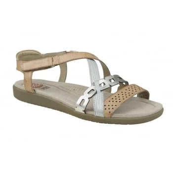 Earth Spirit Louisville Leather Honey / Washed Gold (G29) 28020 Ladies Sandals