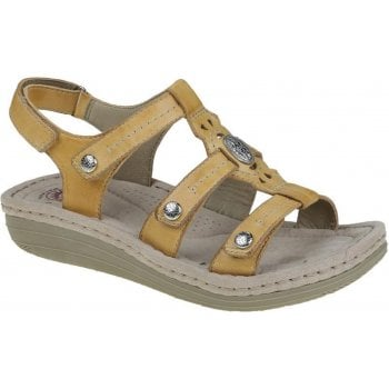 Earth Spirit Lynbrook Amber Yellow (N85) 30281 Ladies Sandals